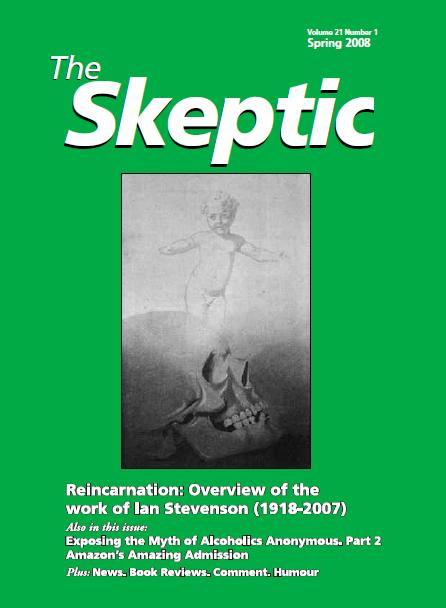 The Skeptic Vol 21 Spring 2008