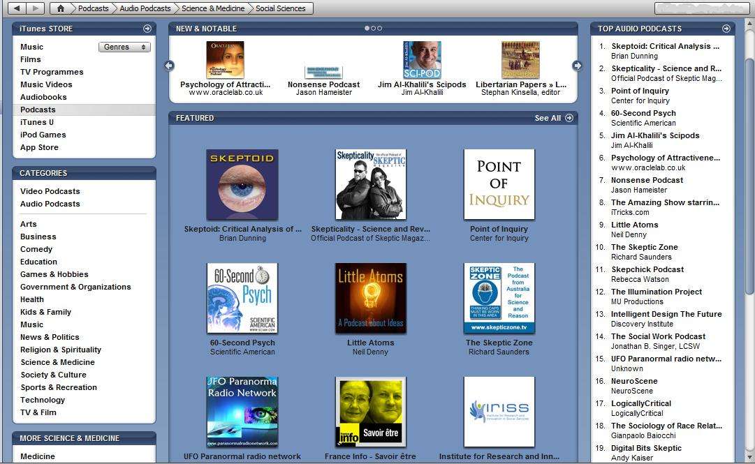 Becomes iTunes Featured..at last!